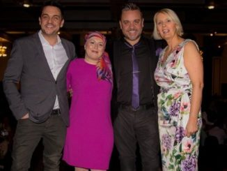 Mike Toolan, Kirsty Cooke, Lee Boardman and Angela Gray at last year's Beechwood Ladies' Lunch