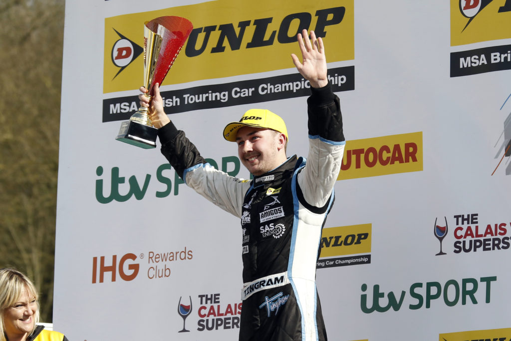 Tom Ingram takes a win at Brands Hatch