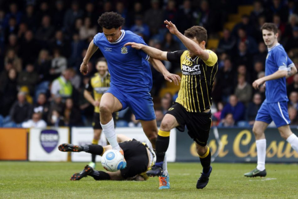 Lewis Montrose, Stockport County v Gloucester City
