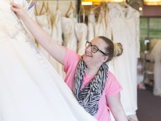 The St Ann's Hospice Bridal Boutique is re-openng in Cheadle