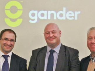 Gander co-founders Christian Mancier, Brian Bradley and Andrew Deighton