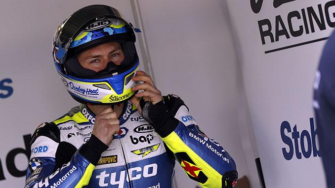 Christian Iddon at the British Superbike Championship