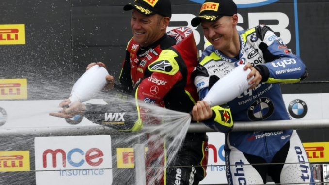 Christian Iddon. MCE British Superbike Championship, Brands Hatch, 23.7.17