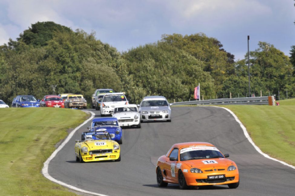 MG Cockshoot Cup in action at Oulton Park