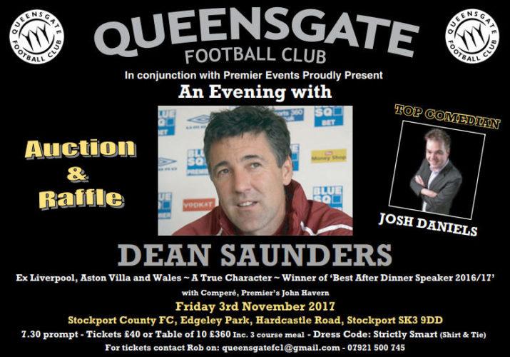 Queensgate JFC poster