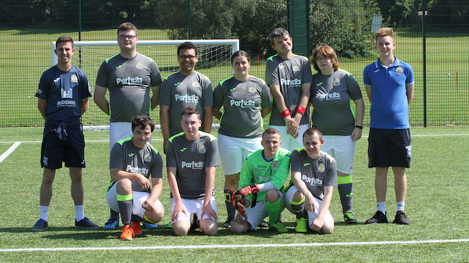 The Stockport County Community Foundation disability adults team