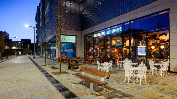 The new Berretto Lounge at Redrock Stockport