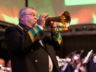the Vernon Building Society Poynton Brass Band