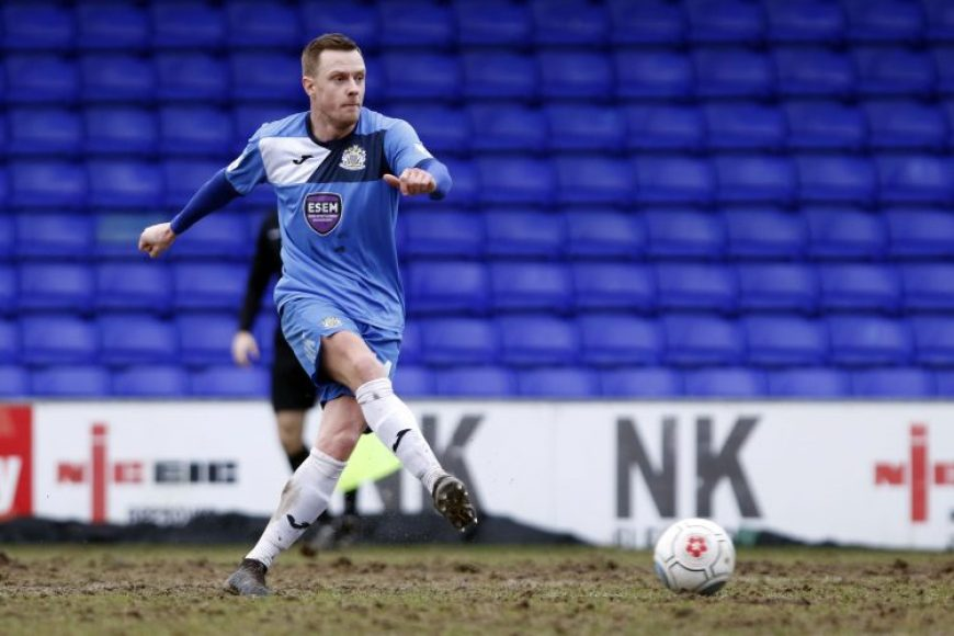 Paul Turnbull makes his debut, on his return to Stockport County