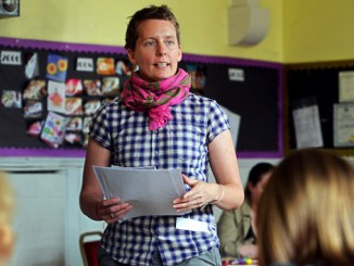 Emma Smith with previous participants