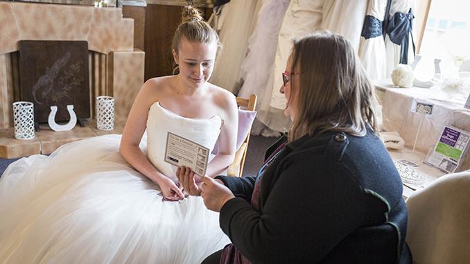 St Ann's Hospice has a wedding shop in Cheadle