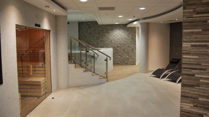 New health spa opens at grand central in stockport south - Altrincham leisure centre swimming pool ...