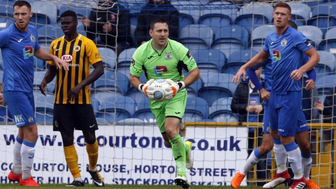 Ben Hinchliffe, Stockport County 0-2 Boston United