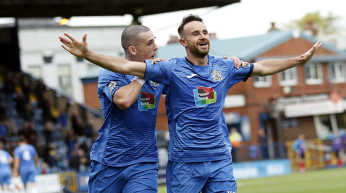 Stockport County top National League North attendance table
