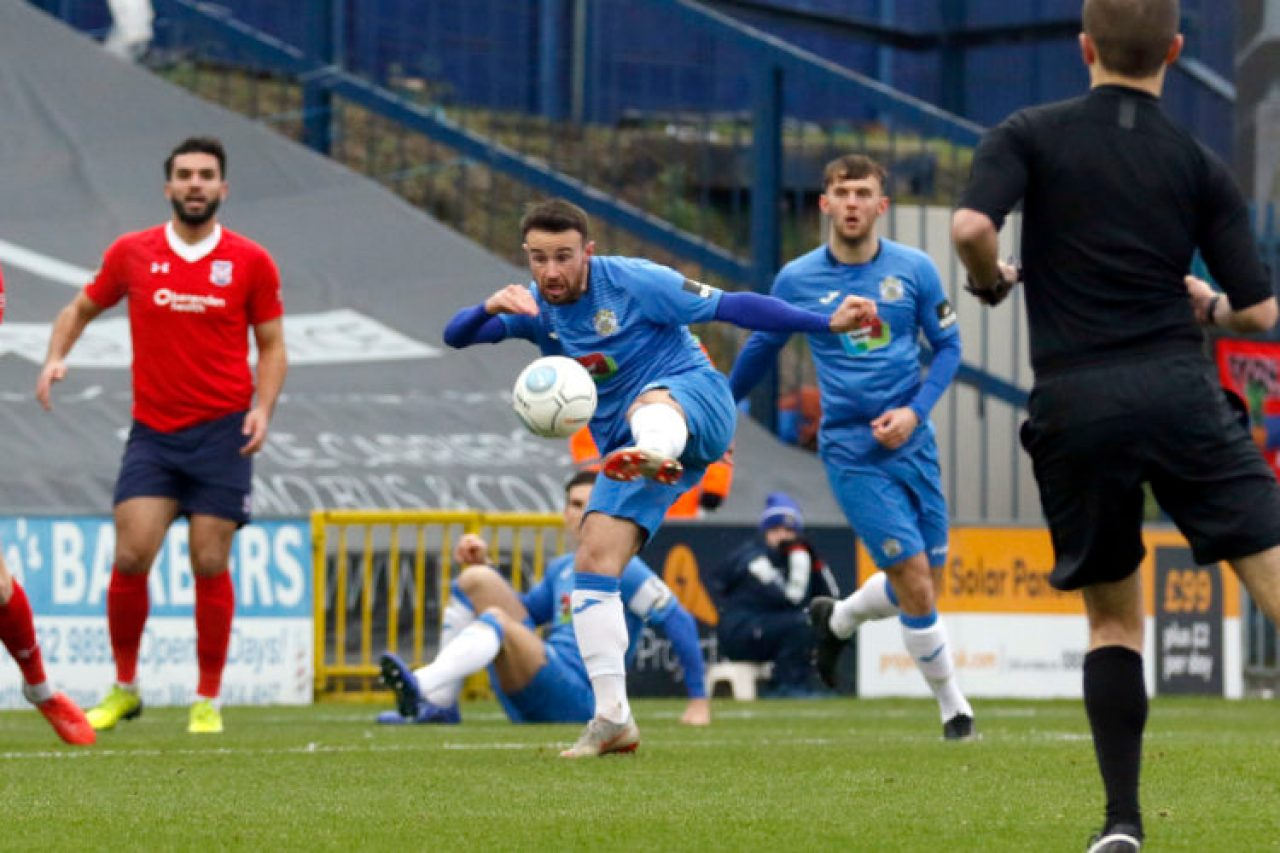 Matty Warburton. Stockport County FC 3-1 York City FC. Vanarama National League North. 19.1.19
