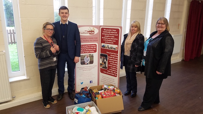 Vernon staff at Stockport Foodbank