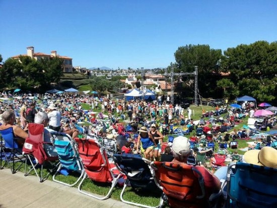 Dana Point Summer Concerts in the Park by www.southocbeaches.com