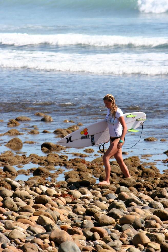 San Onofre Surfing by karinhorlick.com