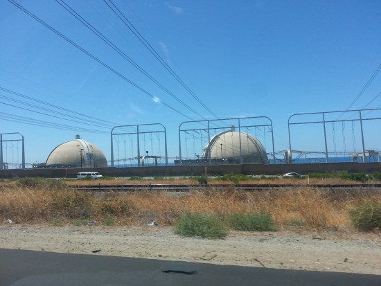 San Onofre Nuclear Operating Station by www.southocbeaches.com