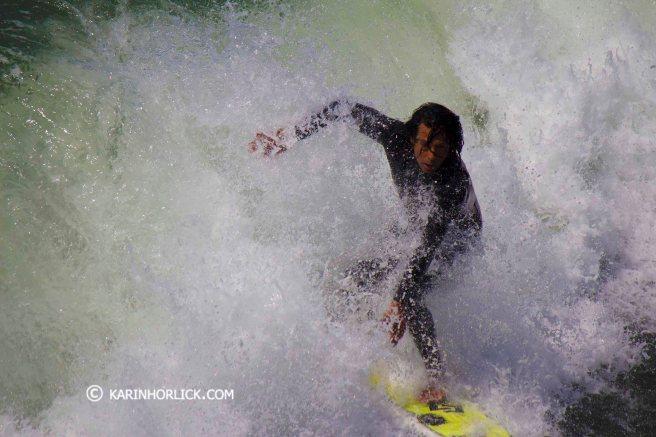 San Clemente Surfing by www.karinhorlick.com