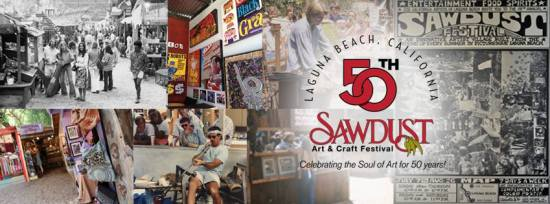 Sawdust Art and Craft Festival 50th Banner