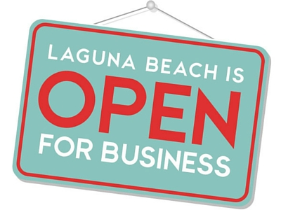 Laguna Beach Open For Business