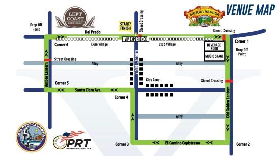 Dana Point Grand Prix 2016 Course Map