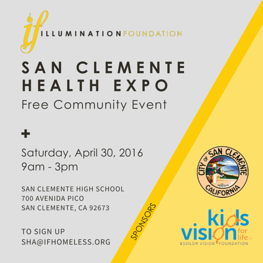 San Clemente Health Expo April 30 2016