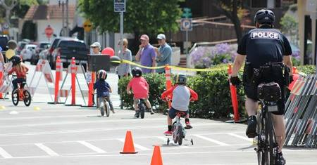 Bike Rodeo Courtesy of The CIty Of Laguna Beach