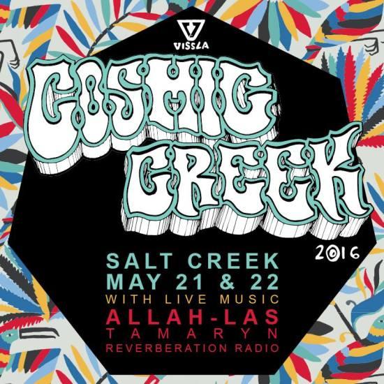 Cosmic Creek Salt Creek May 21 2016