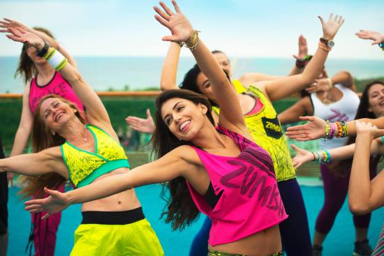 Zumba Wednesday Image Courtesy of The Outlets at San Clemente