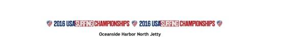 USA Surfing Championships Oceanside June 2016