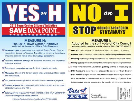 Dana Point Residents for Responsible Development Measure H
