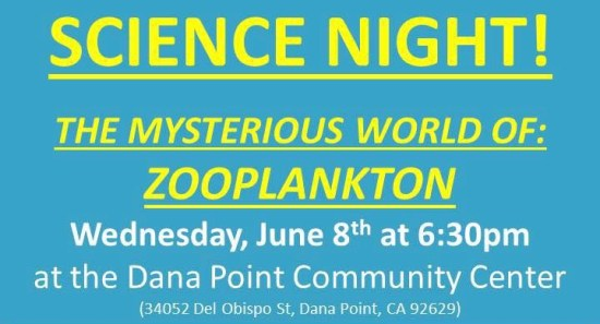 Dana Point Science Night June 2016