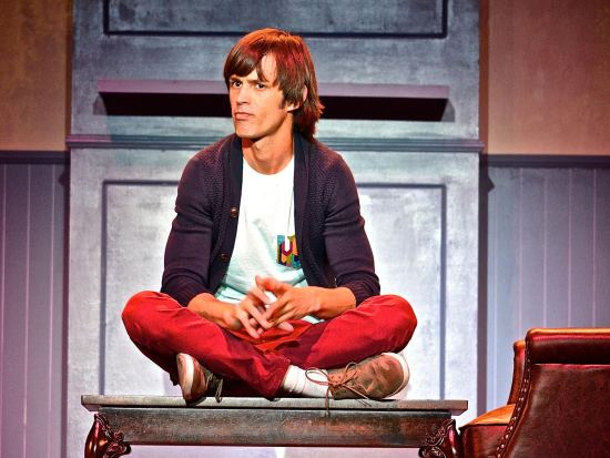 Emerson Collins in Buyer and Cellar at Laguna Playhouse Courtesy of Courtesy of Coyote StageWorks