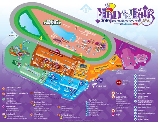Del Mar Fair Map Asian Festival at San Diego County Fair Sunday June 12 2016