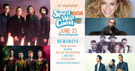 Spirit West Coast Music Festival June 23 2016 at San Diego County Fair