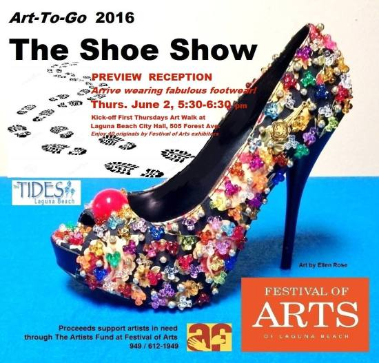 The Show Show June 2 2016 Laguna Beach Reception