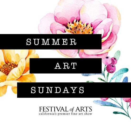 Fashion Island Summer Art Sundays July 31 2016