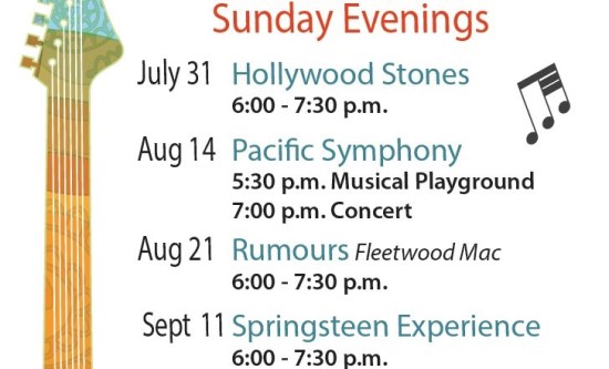 newport beach concerts on the green schedule 2016