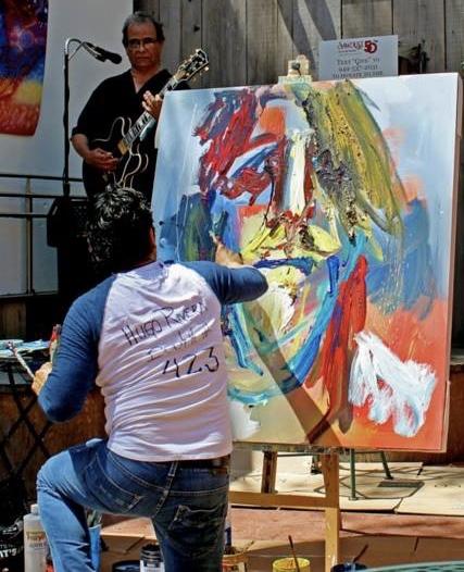 Sawdust Art Festival Art Alive Courtesy of SawdustArtFestival.org