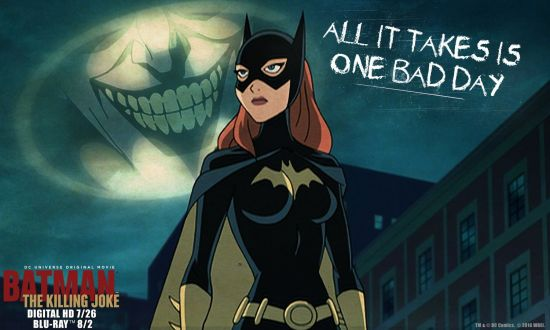 Batman:The Killing Joke Premier at #ComicCon2016 Courtesy of WarnerBros.com