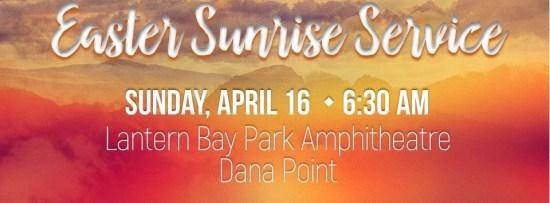 Dana Point Easter Sunrise Service April 16 2017