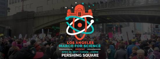 Los Angeles March for Science Earthday April 22 2017