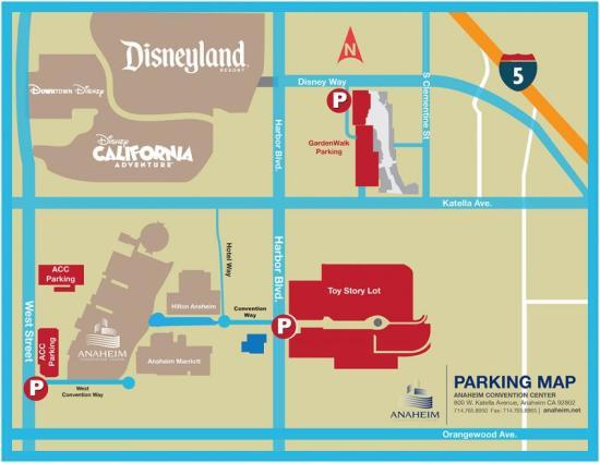 #WonderCon2017 Parking Map