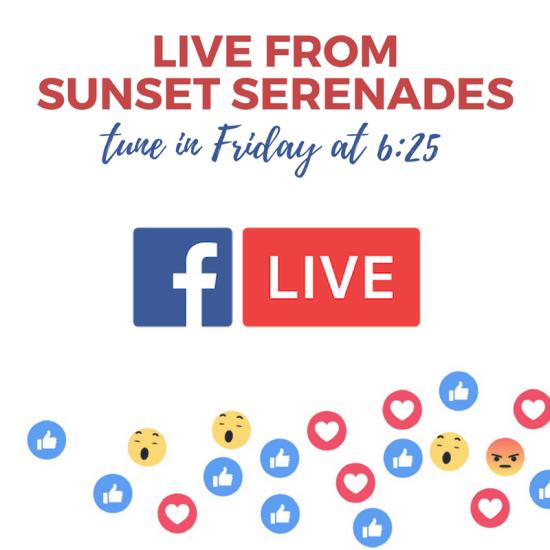 Laguna Beach Sunset Serenades on Facebook Live May 5 2017