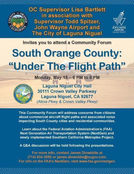 Laguna Niguel FAA May 15 2017