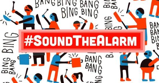 #SoundTheAlarm Courtesy of MoveOn.org