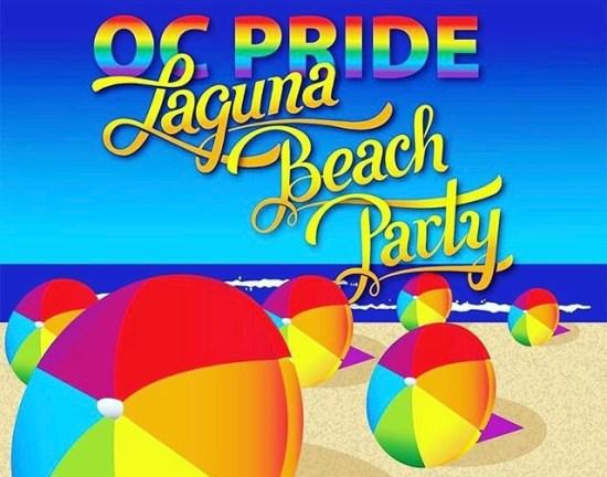 OC Pride Laguna Beach Party June 25 2017