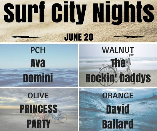 Huntington Beach Surf City Nights June 20 2017